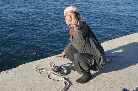 小物釣り専門です、おいら達、木伐りも小物ですオイラ達・・・