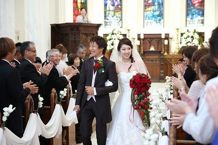 結婚おめでとう、カッコいいぞ